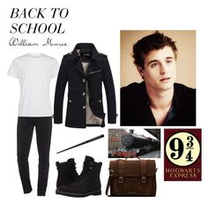 """""""Back to school (Will)"""" by ateliana on Polyvore featuring Kenzo, Timberland, Dr. Martens, men's fashion and menswear"""
