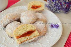 Donuts assado de goiabada | Receitas e Temperos