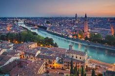 In Verona, architecture is art; places to see are almost without number, from the old bridge that crosses the Adige to the tombs of the Scaligeri. Top 10 Honeymoon Destinations, Honeymoon In Italy, Italy Vacation, Travel Destinations, France 5, Cities In Italy, Living In Italy, Belle Villa, Summer Sunset