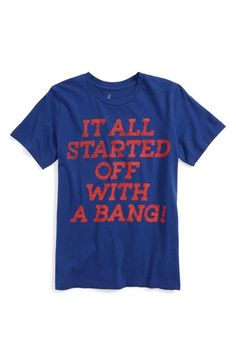 Peek 'Big Bang Theory' Graphic T-Shirt (Toddler Boys, Little Boys & Big Boys) available at #Nordstrom