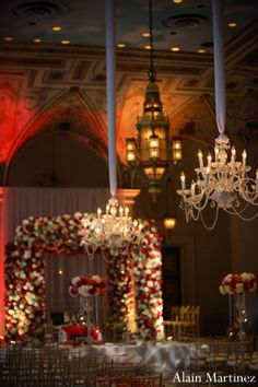 indian wedding ceremony floral decor mandap http://maharaniweddings.com/gallery/photo/6295