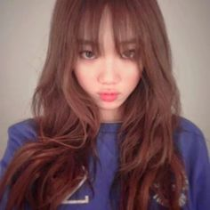 lee sung kyung hair color - Google Search