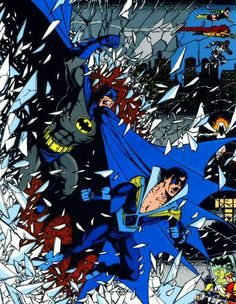 Batman and Nightwing by George Perez