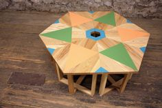 Brooklyn-based company VOLKintroduced some new pieces this year during New York Design Week that feature hand-painted designs full of geometry, color and pattern.