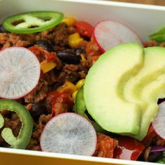 Start the new year off right with the help of Kroger and their newest plant-based product. These insanely delicious burrito bowls are easy to prep for a week of healthy meals.