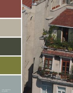 [color inspiration & photo by SISING] calm, mild, vintage, natural, earth, architecture