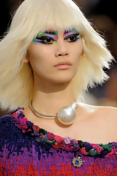 BloggHer : Karl did it again ... Chanel collection spring/summer 2014.