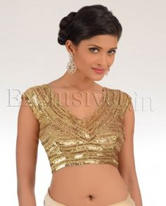 #Exclusivelyin, #IndianEthnicWear, #IndianWear, #Fashion, The Glittering Katrina Blouse