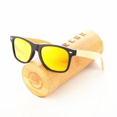 83aa1e31a5 Wood  sunglasses Spring Hinge Handmade Bamboo Sunglasses Men Wooden Sun  Glasses Women  inPinKart Polarized