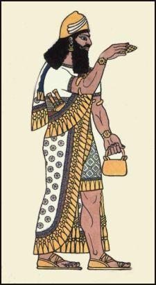 Assyrian costume
