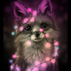 Cute Fox Drawing, Cute Animal Drawings Kawaii, Cute Cartoon Animals, Anime Animals, Cute Drawings, Baby Animals Super Cute, Cute Little Animals, Cute Animal Photos, Cute Pictures