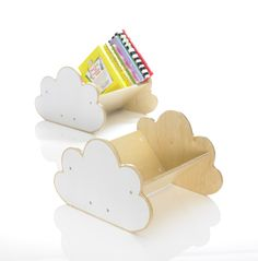 Cloud Book Case by Go Home http://go-home.com.au/showroom/index.php?main_page=product_info&cPath=18&products_id=186