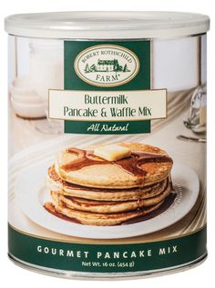 Light and airy buttermilk pancakes! A great addition to any breakfast. $6.99