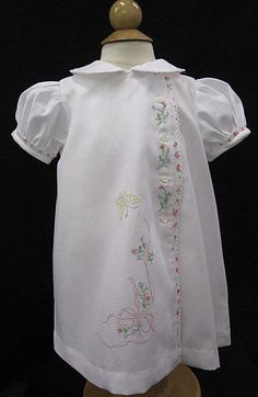 Gorgeous daygown with hand embroidery