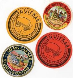 dutch cheese labels - Google Search