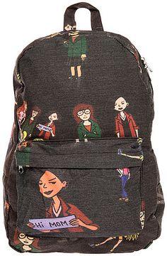 The Daria Backpack in Black