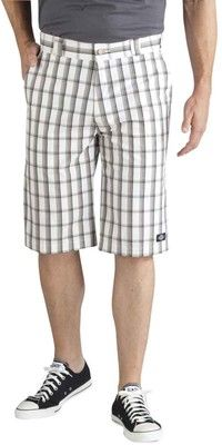 Dickies WR978 Mens 13-inch Regular Fit Plaid Shorts NWT New With Tags