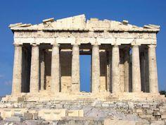 Pártenon (Templo de Atena) - Grécia