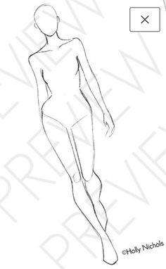 Fashion Illustration Sketches, Fashion Sketches, Fashion Figure Templates, Fashion Model Drawing, Female Drawing, Figure Sketching, Fashion Figures, Fashion Poses, Aesthetic Fashion