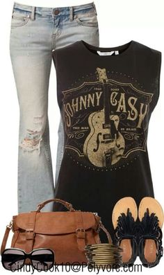 Johnny cash cute outfit