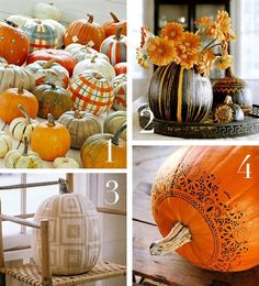 How cool would these look for a fall/Halloween display?!