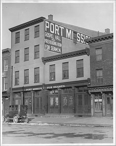The story of the Port Mission in Fells Point, Baltimore, Maryland.