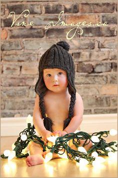 cute christmas idea. @ Randee wells. This little boy totally looks like Winn.