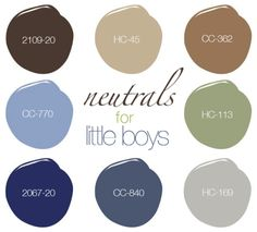 little boys for neutrals - Boys Bedroom Color