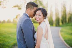 Spring wedding with makeup & hair by Kelly and photos by Closer to Love. #kellyzhang #kellyzhangstudio #pasadena #socal #california #may #spring #wedding #bride #bridal #makeup #hair #updo
