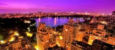 New York City, Upper East Side, Central Park View & Reservoir Central Park Nyc, New York Hotels, Upper East Side, I Love Ny, Nice View, Dream Vacations, Paris Skyline, New York City, The Good Place