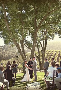 Brides.com: 13 Creative Ideas for a Winery Wedding  | Click to browse!