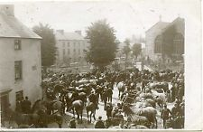 A Horse Fair, Priory Street, CARMARTHEN, Carmarthenshire RP Welsh, Great Deals, Old Photos, Horses, History, Street, Outdoor, Old Pictures, Outdoors