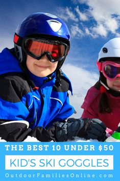 So your wild child needs new ski goggles but with so many to choose from how do you decide which are the best ski goggles for your adventurous kid? Outdoor Gear, Outdoor Baby, Outdoor Gifts, Best Ski Goggles, Kids Skis, Outdoor Activities For Kids, Family Activities, Snowboarding Gear, Go Outside