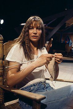 Jane Birkin, English actress and singer who lives in France.