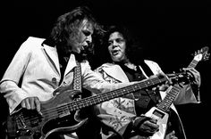 Jack Bruce & Leslie West | West, Bruce, & Lang in Detroit at the Ford Auditorium in 1975