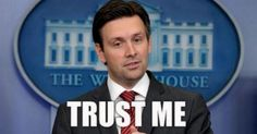 HISTORIC! Josh Earnest narrows 'transparency' scope (hint: THESE people don't care)