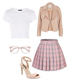 """""""Untitled #188"""" by susannhaabeth on Polyvore featuring River Island, Ava & Aiden, EyeBuyDirect.com and Topshop"""