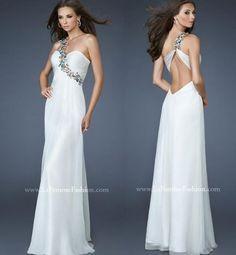 Gorgeous greek goddess summer wedding dress 2014 by La Femme