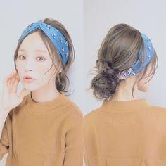 {575CD965-0CE6-4A2C-AA9B-38363DF07DF0} Cut And Color, Diy Hairstyles, Headbands, Hair Beauty, Hair Styles, Colors, Summer, Fashion, Hair Plait Styles