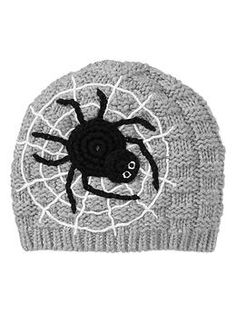 Crocheted spider hat | Gap
