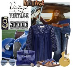 """""""Vintage!"""" by mharvey ❤ liked on Polyvore"""