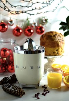 Stuck for Christmas gift ideas? Our range of small appliances would make the perfect present, with something like our citrus juicer being a blessing for juice-aholics! Want to see it in person? Virtual tours of our London store now available. Email showme@smeglondon.com for more info. #chritsmas #juicer #italiancooking #familycooking #homecooking #chef #masterchef #colour #50sstyle #50sinspired #pastel #design #style #food #foodie #italian #madeinitaly #designedinitaly #familyiseverything Citrus Juicer, Pressed Juice, Presents For Friends, Italian Cooking, Retro Color, Blenders, Pretty Pastel, Small Appliances, Food Cravings