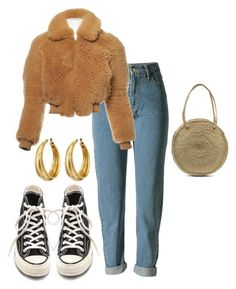 """""""Untitled #230"""" by amaraelizabeth ❤ liked on Polyvore featuring Acne Studios, Converse and Lucky Brand"""