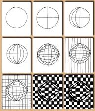 op art lesson handouts - Google Search