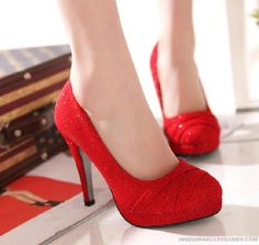 Bride Heeled Wedding Shoes