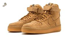 info for 1e491 81182 Nike Air Force 1 Hi PRM Women s Shoes Flax Flax Outdoor Green 654440-