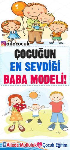 Çocuğun en sevdiği baba modeli! -Dr. Yaşar Kuru Babe, Parenting, Education, Comics, Notebooks, Notebook, Cartoons, Onderwijs, Learning