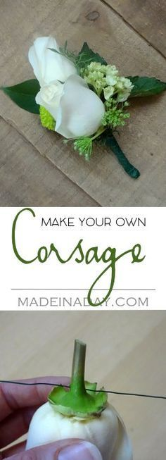 How to make a Corsage, Simple tutorial on how to layer flowers to make a corsage for a special occasion. Mother's Day, Prom, Weddings, etc.…