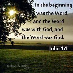 He was in the beginning with God.