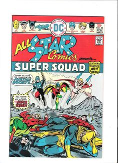 ALL-STAR COMICS #58 Grade 8.0 Bronze Age Key issue: 1st Power Girl appearance! http://r.ebay.com/Vwx2Gk